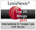 Lexis/Nexis Top 25 Blogs Logo