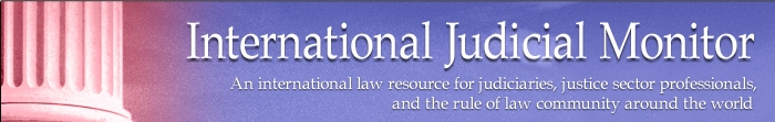 International Judicial Monitor