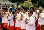 Cambodian Court Swearing In Ceremony